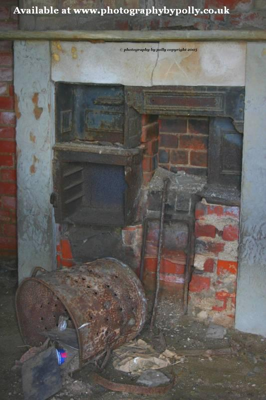 Fireplace....old